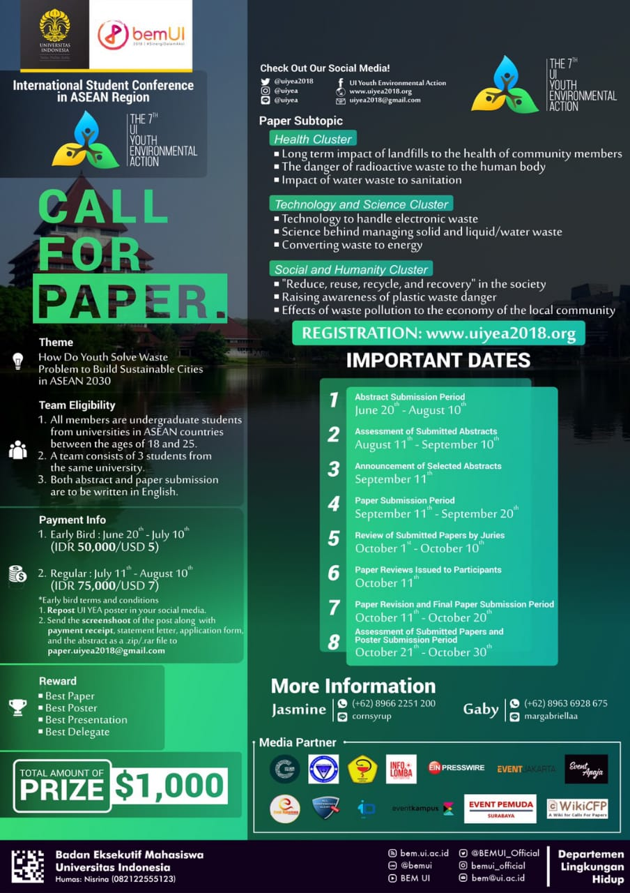 International Undergraduate Student Conference in ASEAN: The